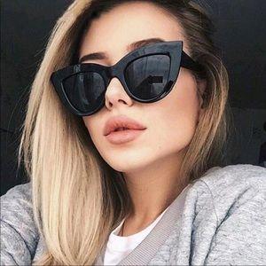 Accessories - ☀️🕶 JUST ARRIVED Matte Black Cat Eye Sunglasses